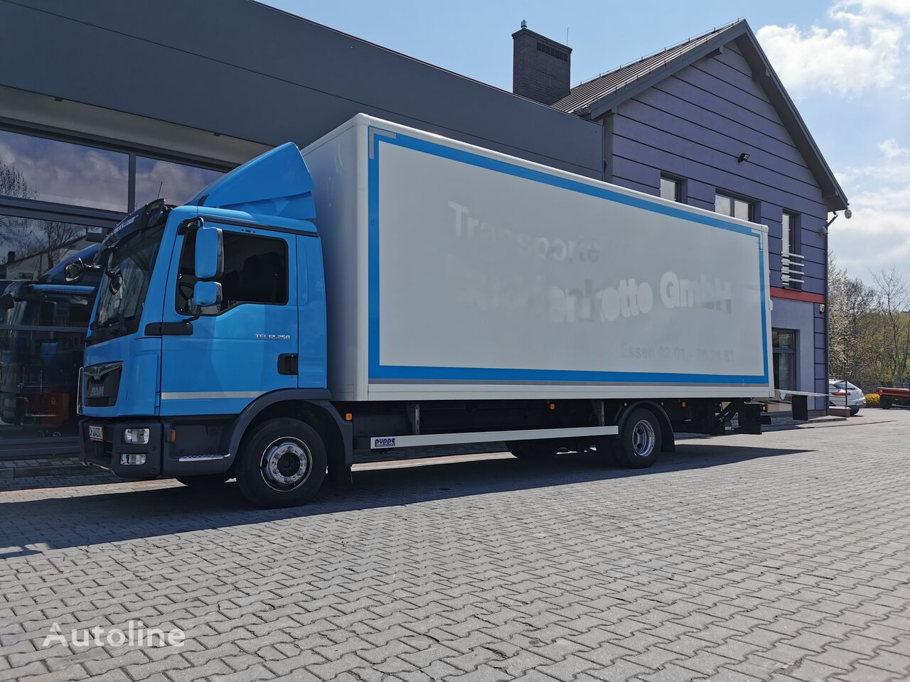 PALFINGER winda MBB C 1500L + zabudowa / kontener box truck