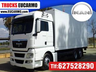 MAN TGX 26 440 box truck