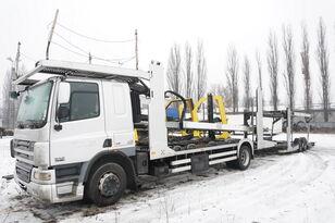 DAF CF 75 360 , E5 , 4x2 ,MEGA , LOHR , retarder , sleep cab  car transporter + car transporter trailer
