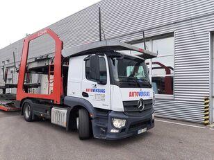MERCEDES-BENZ ACTROS car transporter + car transporter trailer