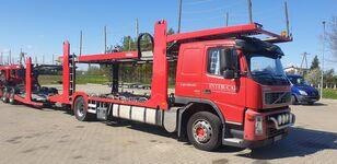 VOLVO FM 400 car transporter + car transporter trailer