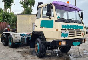 STEYR 26S31 / 6x4 / ZF - 16 Speeds / Voll Springs chassis truck