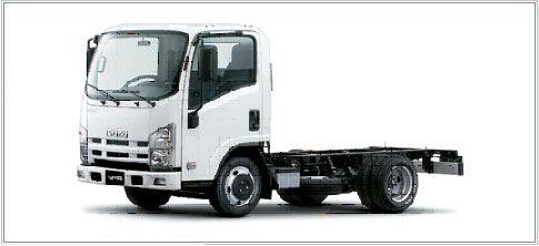 ISUZU NMR-85L chassis truck
