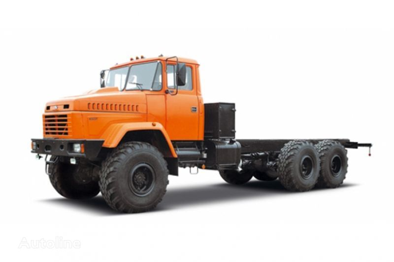 new KRAZ 63221 tip 3 chassis truck