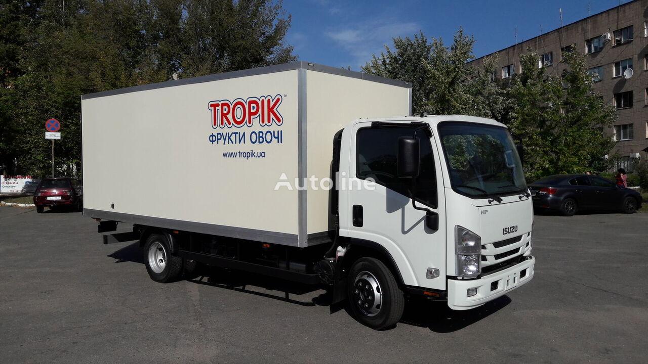 new ISUZU NPR 75 L-K closed box truck