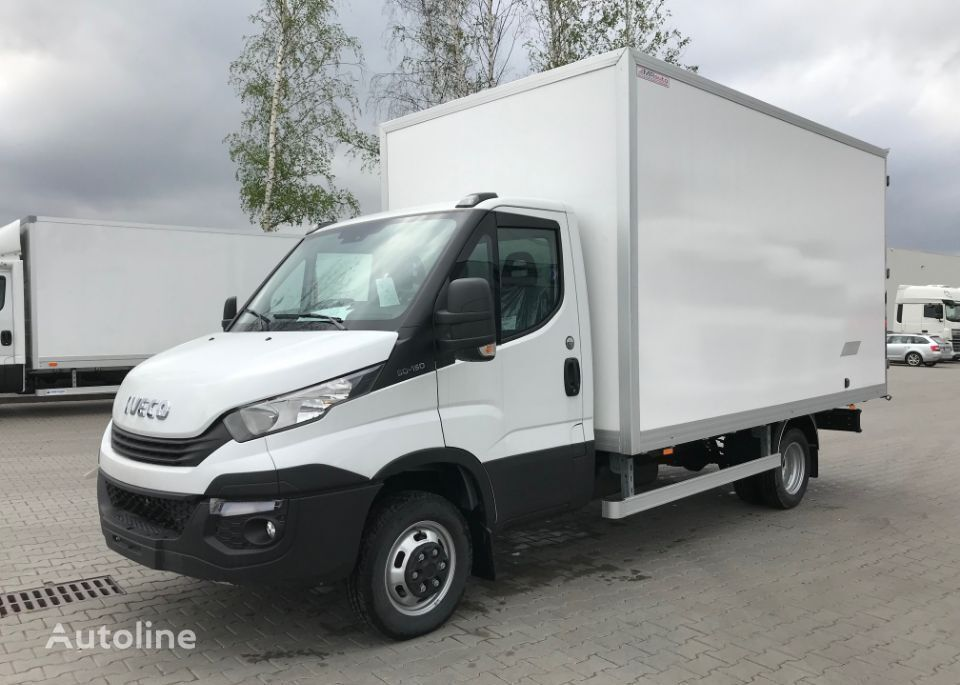 new IVECO DAILY closed box truck