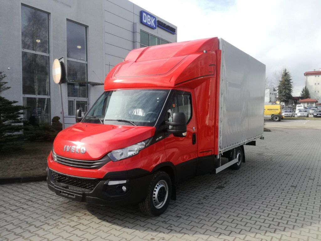 new IVECO DAILY 35S18 closed box truck