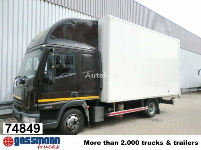 IVECO EuroCargo 75 E 17/4x2 Standheizung/Klima closed box truck