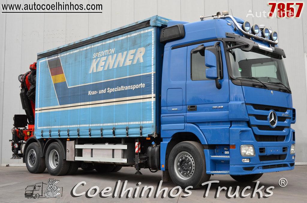 MERCEDES-BENZ 2548 Actros  curtainsider truck