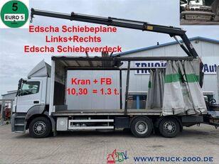 MERCEDES-BENZ 2636  curtainsider truck