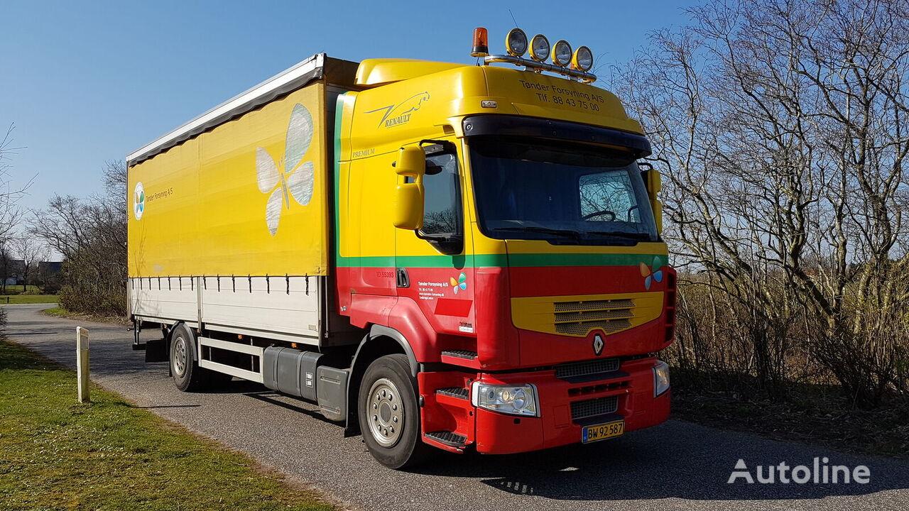RENAULT Premium 330 curtainsider truck