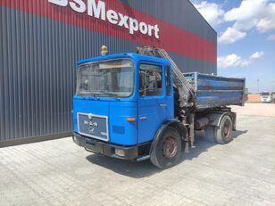 MAN 16.168, 6 cylinder dump truck