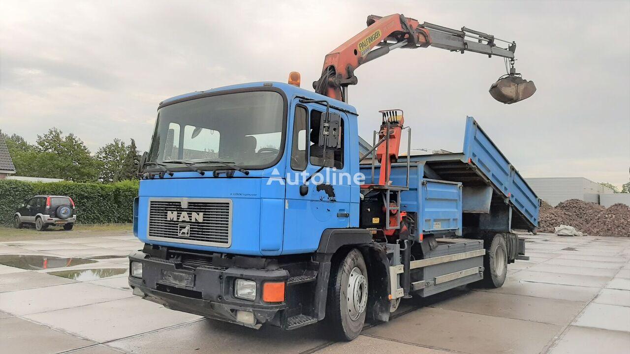 MAN 19.322 + Palfinger PK13000 Rotator Sandbox dump truck