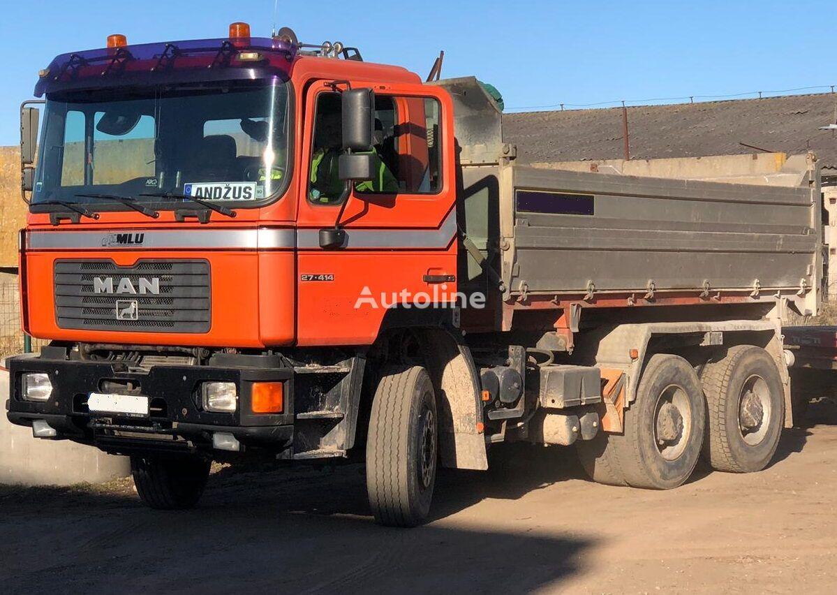 MAN 26.414 dump truck
