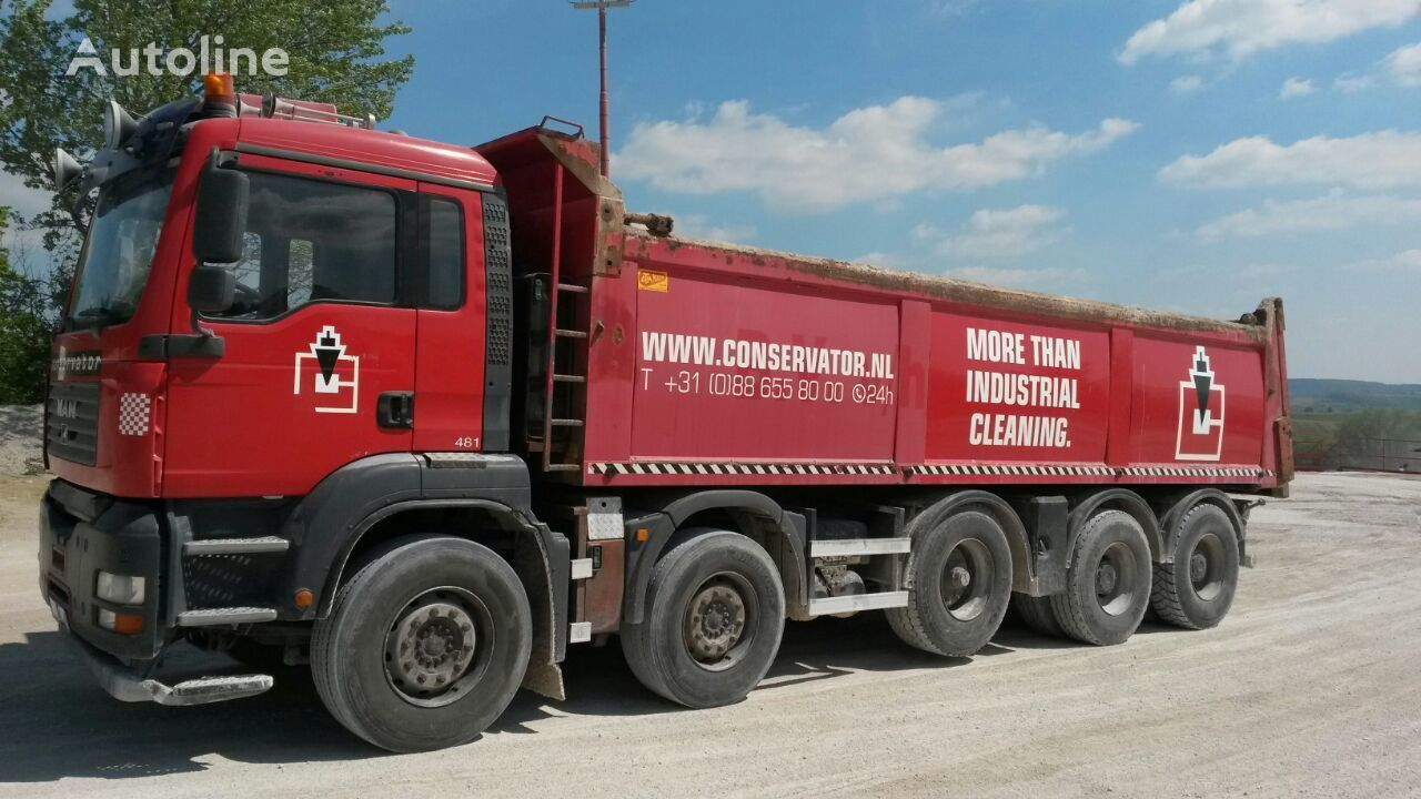 MAN 49.480 sklapac 10x4 rv 2007  dump truck