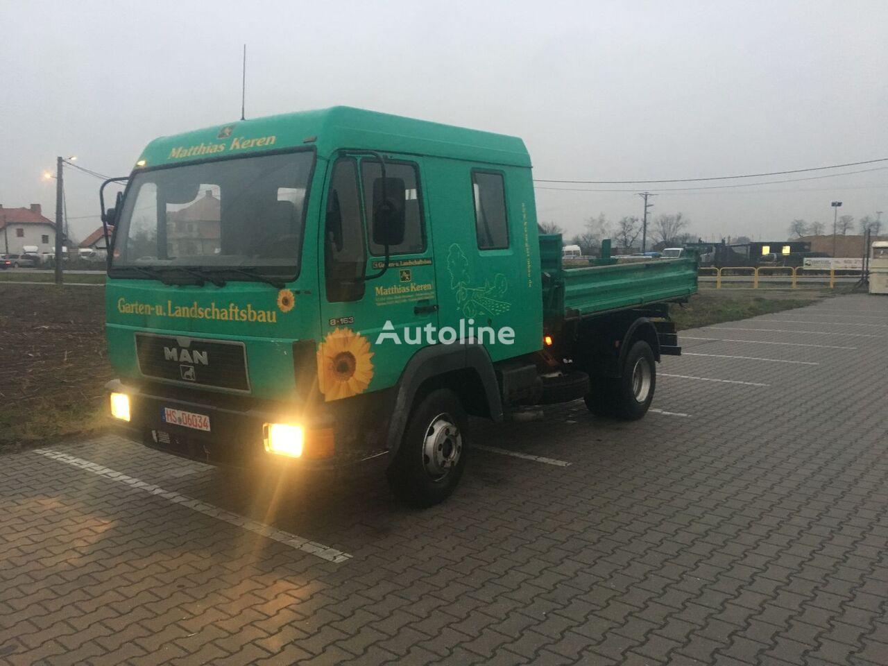MAN L2000 dump truck