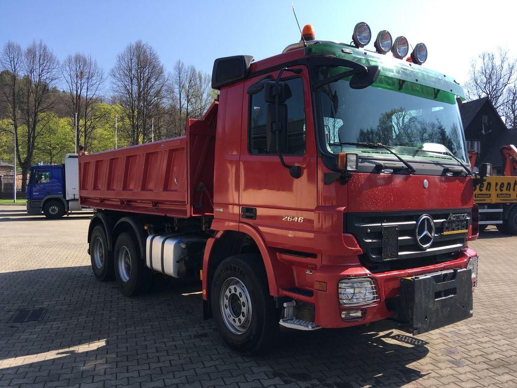 MERCEDES-BENZ 2646 ACTROS MP2 wywrotka 6x4 dump truck