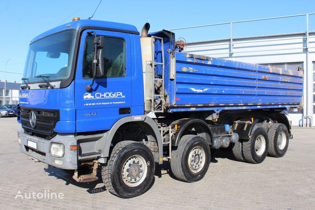 MERCEDES-BENZ Actros 4141 8x6 Meiller-Kipper Bordmatik dump truck