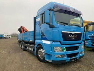 MAN TGX 26.440 flatbed truck
