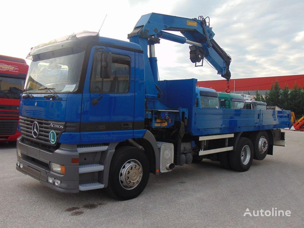 MERCEDES-BENZ 2535 L ACTROS  flatbed truck