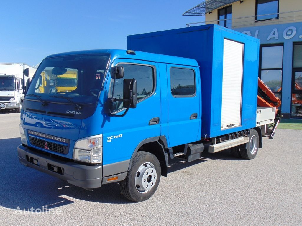 MITSUBISHI FUSO CANTER 7C18D flatbed truck