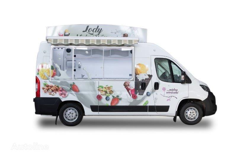 new BANNERT L2H2  HIT Zabudowa samochodu Witryna lodowa na GLIKOL 8-10 godzi food truck