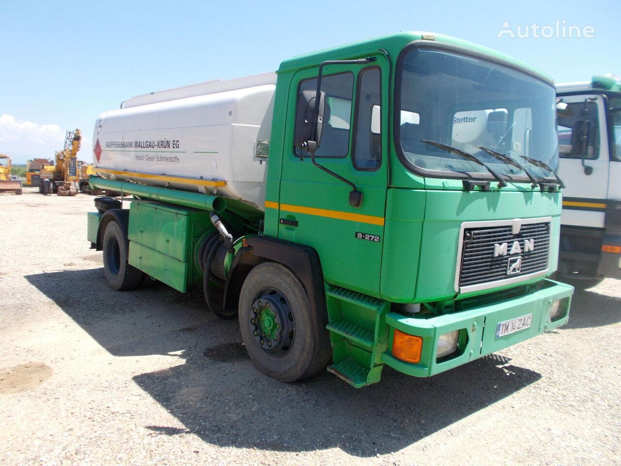 MAN 18272 fuel truck
