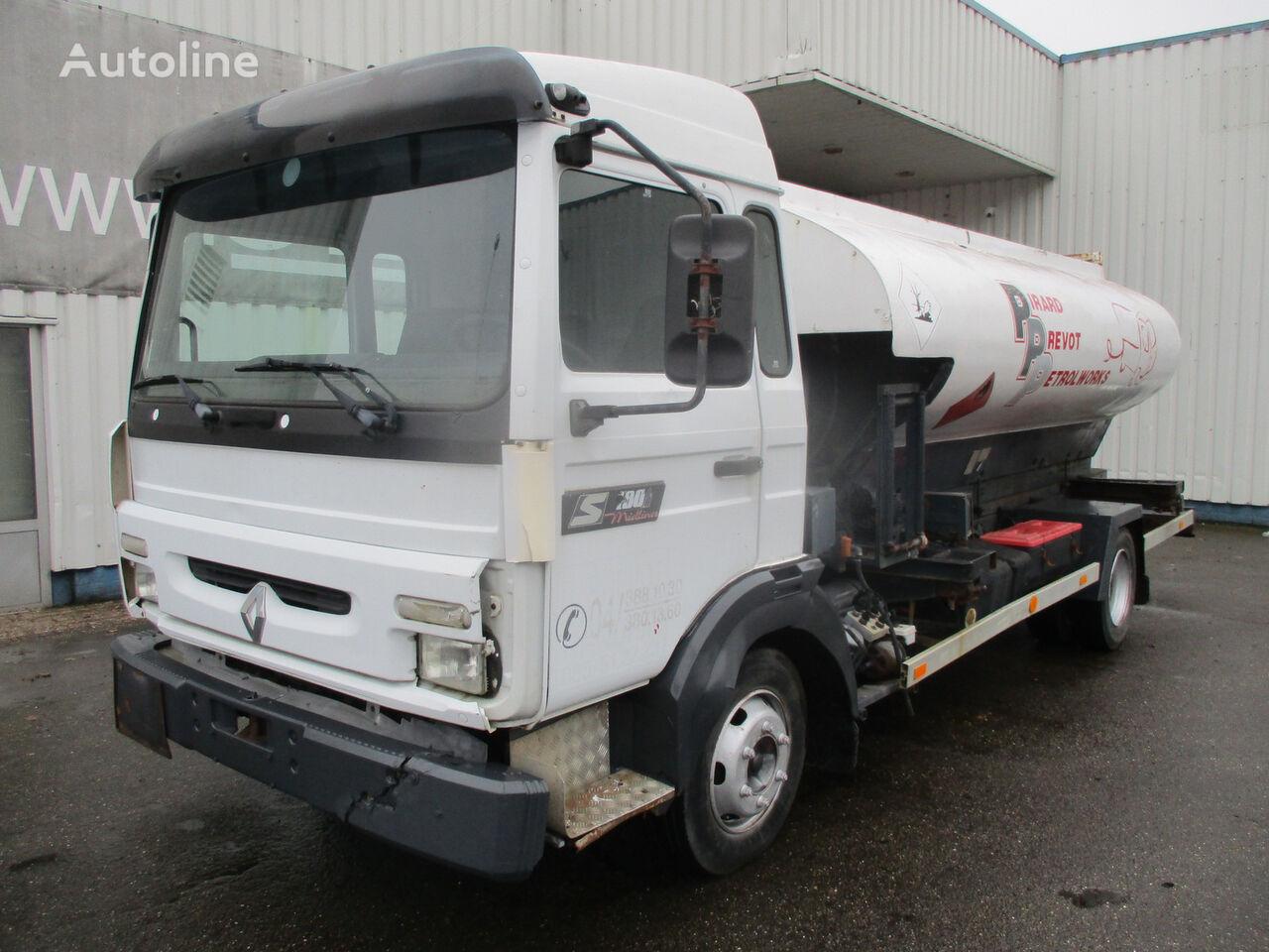 RENAULT Midliner S 180 .4x2 ,Belgium Truck fuel truck