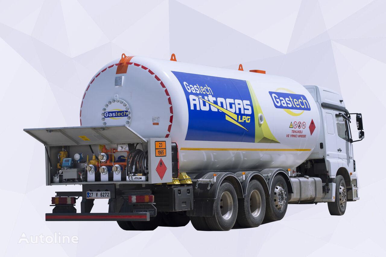 new LPG BOBTAIL  gas truck