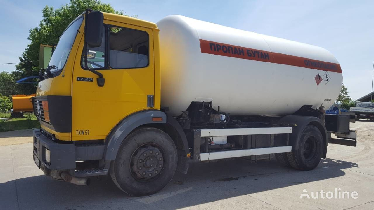 MERCEDES-BENZ 1722 gas truck