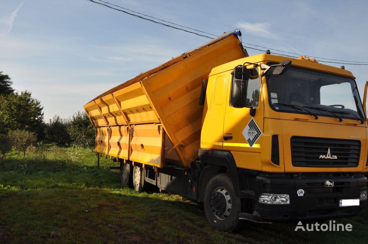 MAZ 6501A8 grain truck