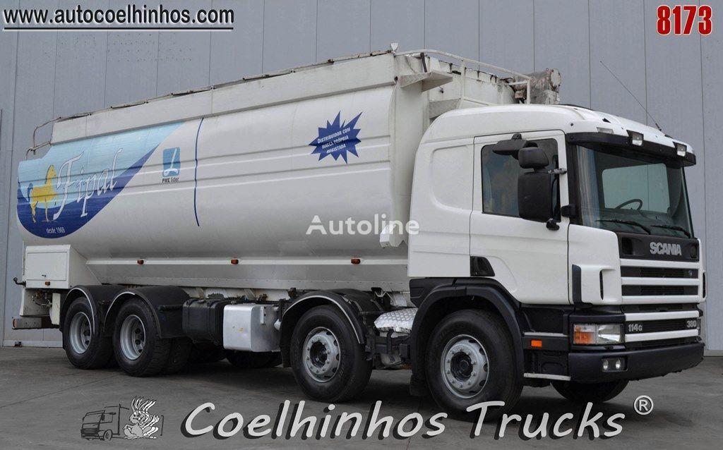SCANIA 114G 380   grain truck