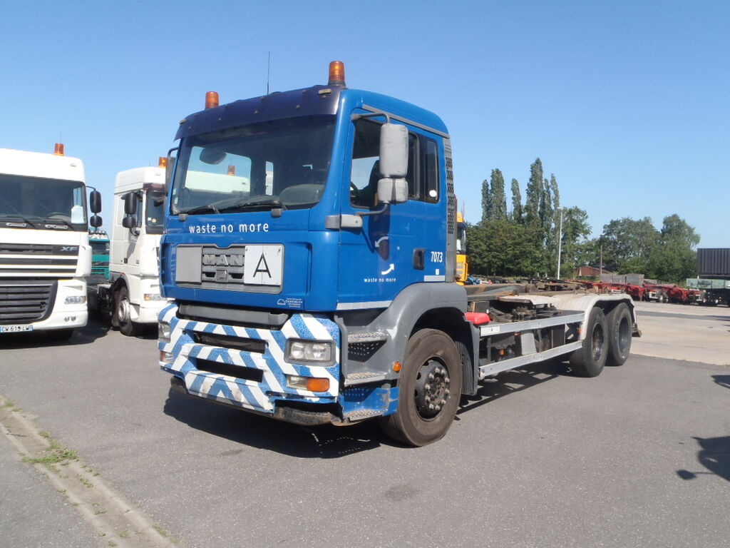 MAN TGA 360 6x2 Containersystem 10 wheels hook lift