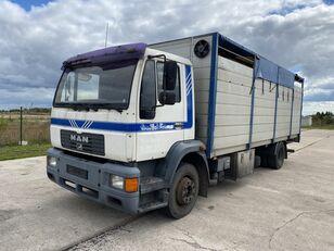 MAN 14.224 4x2 Animal transport livestock truck