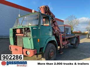 HANOMAG F 161 AK 4x4 platform truck
