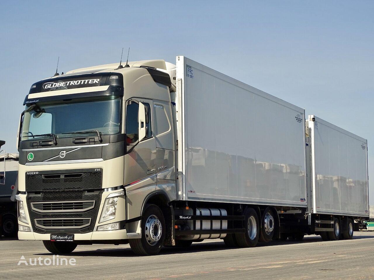VOLVO FH 500 / 6X2 / REFRIDGERATOR / THERMO KING T800R + SCHMITZ TRAIL refrigerated truck + refrigerated trailer