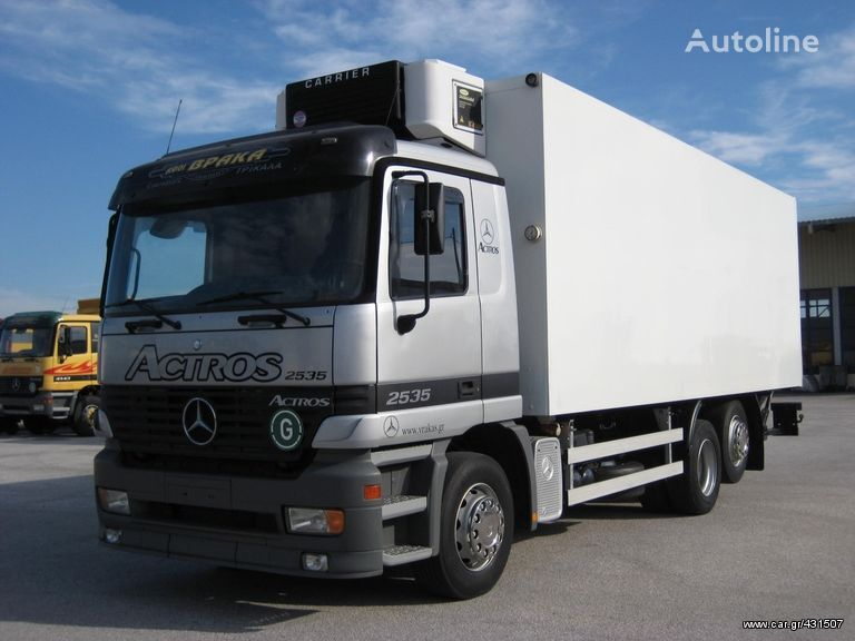 MERCEDES-BENZ 2535 L ACTROS refrigerated truck