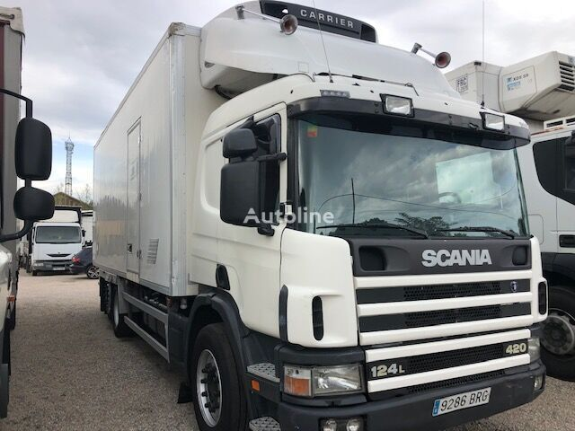 SCANIA P124-6X2-420HP refrigerated truck