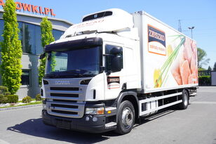 SCANIA P280 , E5 , 18 EPAL , Meat HOOKS , tail lift , retarder , sleep  refrigerated truck