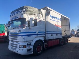 SCANIA R730 / 6X2 / EURO 5 refrigerated truck