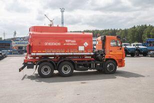 new KAMAZ АЦ - 17 с насосом на шасси Камаз 65115-50 tanker truck