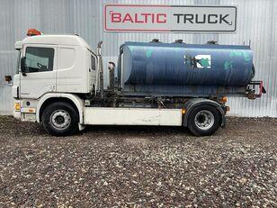 SCANIA P94-300, 4x2 HOOKLIFT tanker truck