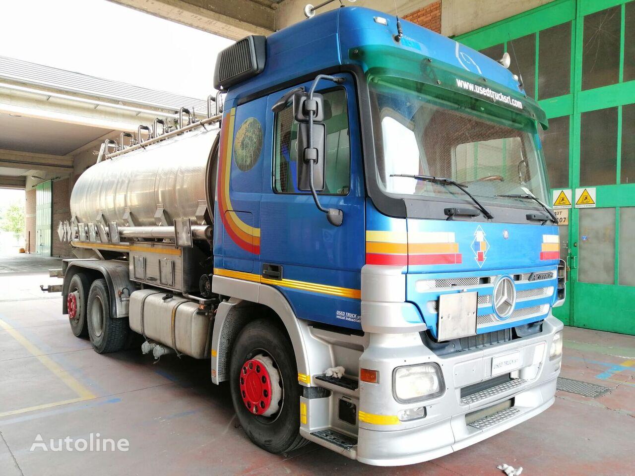 MERCEDES-BENZ actros 2541 tanker truck