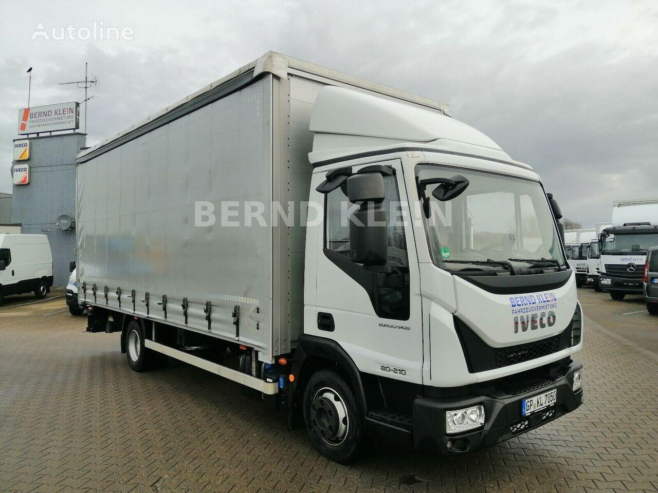 IVECO Eurocargo 80-210 P+P + HF  tilt truck