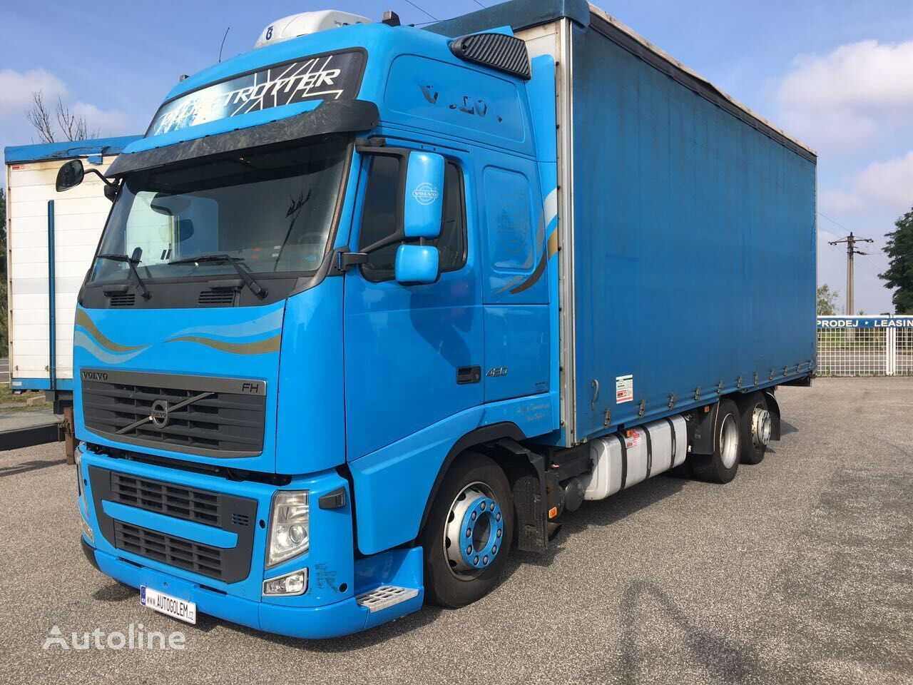 VOLVO FH13 420 62R valník tilt truck