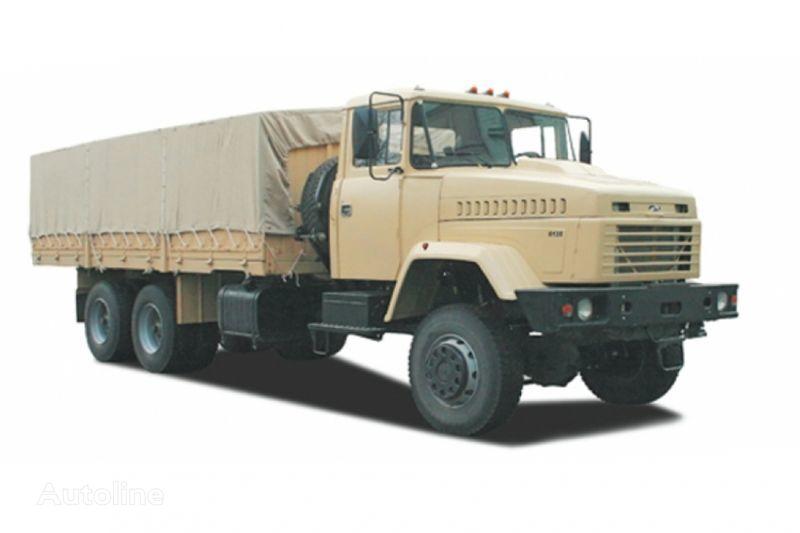 new KRAZ 6135V6 tilt truck