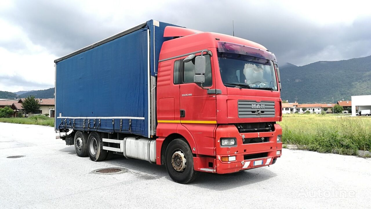 MAN TGA 26.480 tilt truck