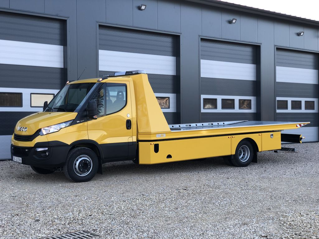 new IVECO Daily 70C18 tow truck