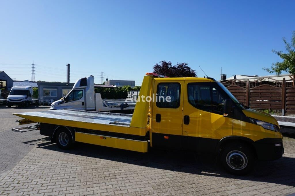 new IVECO Daíly 70C18/ 5,4m Schiebeplateau ,Brille Finanzierung tow truck
