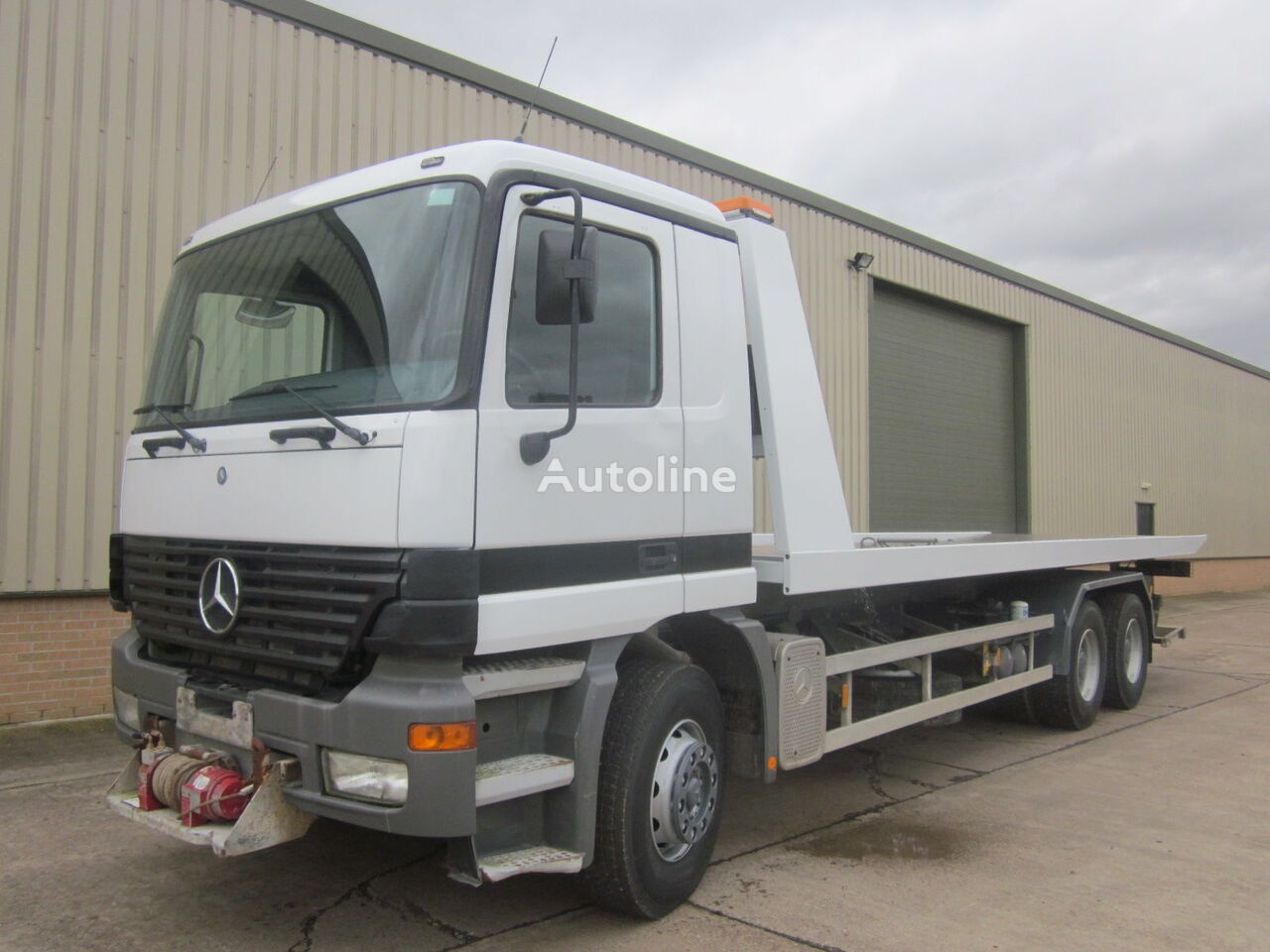 MERCEDES-BENZ Actros Recovery Truck  tow truck